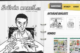 Снимок официального сайта Штепана Мареша, Фото: Радио Прага