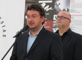 Michal Lukeš y Martin Reissner (detrás), foto: Kristýna Maková