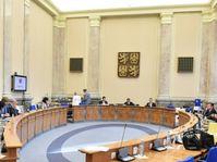 Kabinettssitzung (Foto: Archiv des Regierungsamtes der Tschechischen Republik)