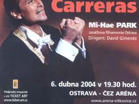 José Carreras inaugurará la sala deportiva CEZ Arena de Ostrava