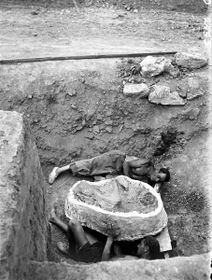 Место находки «шаманки», Фото: Архив Центра культурной антропологии