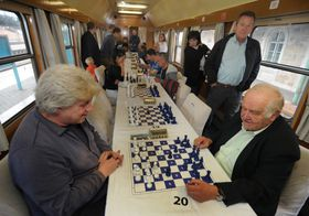 Lars Karlsson, Ján Plachetka, photo: CTK