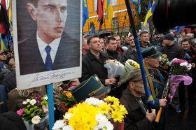 Ветераны УПА в Киеве, 2012 год: CC BY 3.0