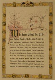 Rakouská ústava zroku 1861, foto: Wikimedia Commons, CC0