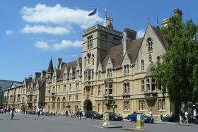 Balliol College, Oxford University, photo: Peter Trimming, CC BY-SA 2.0
