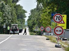 Grenze zur Slowakei (Foto: ČTK / Václav Šálek)