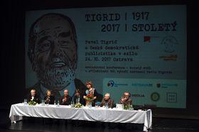 Международная конференция, посвященная 100-летию со дня рождения Павла Тигрида, Фото: ЧТК