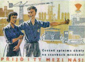 La propaganda del régimen comunista