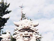 Каменная статуя языческого бога Радегаста