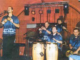 El grupo Pragasón, Foto: Lidove Noviny, 27-1-2003