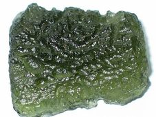 Moldavite, photo: Mp, Creative Commons 3.0
