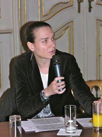Nina Bosničová, photo: Facebook profile of Czech Women's Lobby