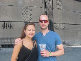 Aneta y Michal, asistentes de Praga, foto: Ana Briceño