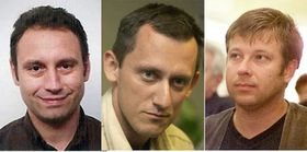 Вит Поганка, Михал Кубал и Петр Клима (Фото: ЧТК)
