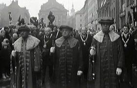 Trauermarsch (Foto: Tschechisches Fernsehen)