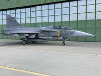 Gripen-Jagdflugzeug (Foto: Martin Pařízek, Archiv des Tschechischen Rundfunks)