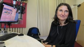 Margit Slimáková, foto: Milan Baják, Archivo de ČRo