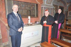 Josef Beran wurde im Petersdom bestattet (Foto: Archiv des tschechischen Außenministeriums)