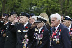 Les célébrations du Débarquement allié du 6 juin 1944, photo: AP Photo/David Vincent