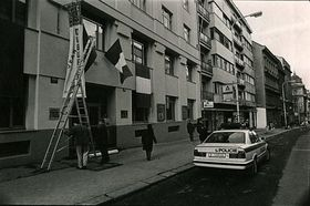 L'institut français de Prague en 1993, photo: Archives de l'IFP