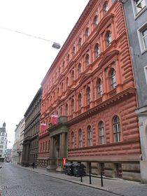 Communist Party headquarters in Prague, photo: Anette Kraus