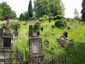 Bergfriedhof in Kryštofovo Údolí (Foto: www.mestohejnice.cz)