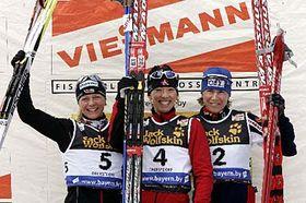 Katerina Neumannová (a la derecha) Foto: CTK