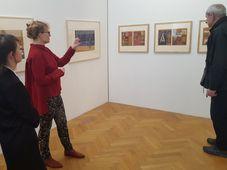 Na výstavě Stories, foto: Klára Stejskalová