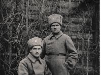 Czechoslovak legionaire Eduard Pohanka (sitting) fell in Russia fighting Bolsheviks, photo: archive of Vít Pohanka