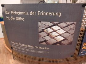 Stolpersteine in Munich, photo: Adam Jones, Wikimedia Commons, CC BY-SA 3.0