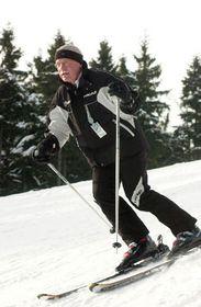 Вацлав Клаус в горах (Фото: ЧТК)