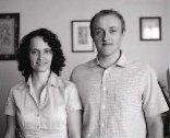 Tomáš Obšil et sa femme Veronika
