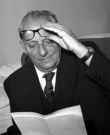 Max Brod 1964 (Foto: ČTK)