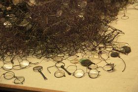 Brýle zabavené vOsvětimi, foto: Barbora Kmentová