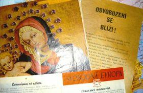 Letáky RFE (1945-1955), foto: Miroslav Kozel, Písek