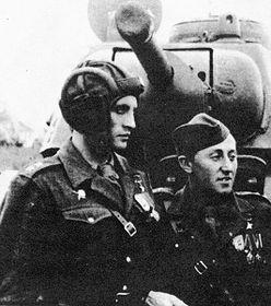 Otakar Jaros (gauche) et Richard Tesarik