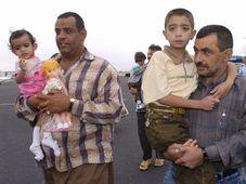 Les enfants irakiens sont arrivés en République tchèque, photo: CTK