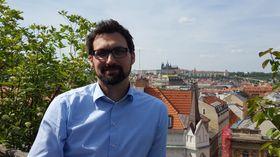 Gilles Oulevey na terase hotelu Mosaic House, foto: Klára Stejskalová