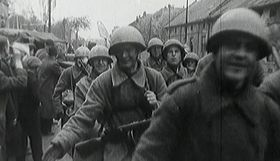 Liberation of Czechoslovakia by Red Army, photo: Czech Television