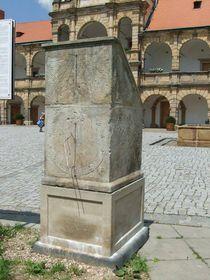 Солнечные часы в городе Моравска Тршебова