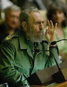 Fidel Castro, photo: CTK