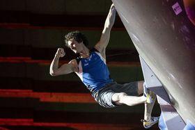Adam Ondra, foto: ČTK / AP Photo / Alexandra Wey