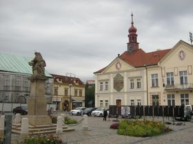Brandýs nad Labem - Masaryk Square, photo: Dominik Jůn