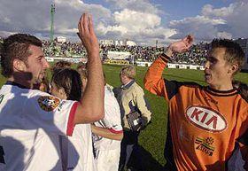 Euforia del club de Most  (Foto: CTK)