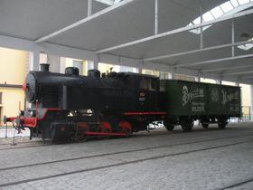 Con ese tren se transportaba la cerveza