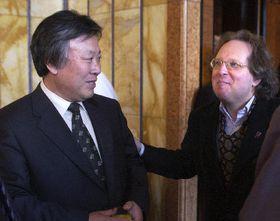 I Mun-jol and Michael March, photo: CTK