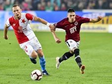 Le traditionnel derby pragois entre le Sparta et le Slavia, photo: ČTK/Šimánek Vít