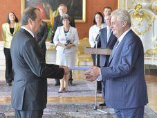Jan Kohout, Miloš Zeman, photo: CTK