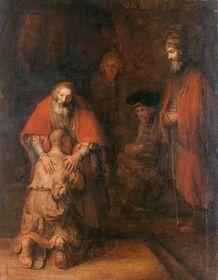 Рембрандт ван Рейн «Возвращение блудного сына»