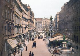 Vienna in 1900, photo: Public Domain